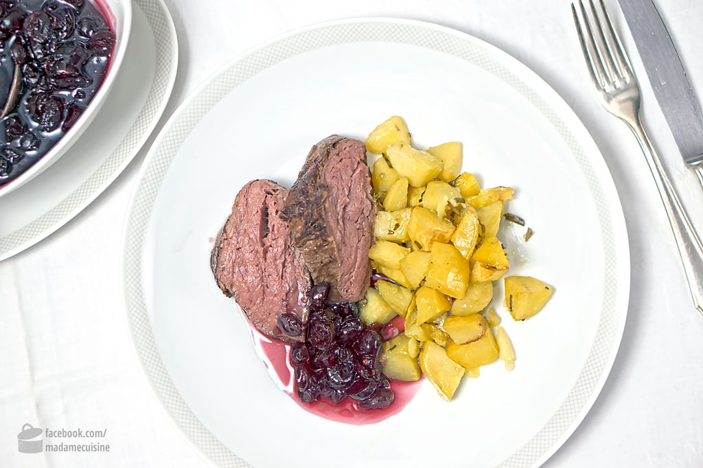 Rinderfilet mit Cranberry Soße {Sponsored Post} | Madame Cuisine Rezept