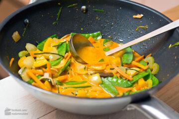 Thai-Curry mit knackigem Gemüse | Madame Cuisine