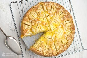 Versunkener Apfelkuchen | Madame Cuisine