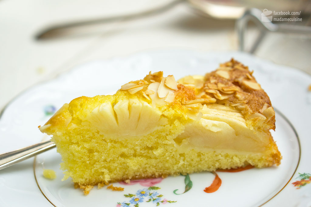 Versunkener Apfelkuchen | Madame Cuisine Rezept