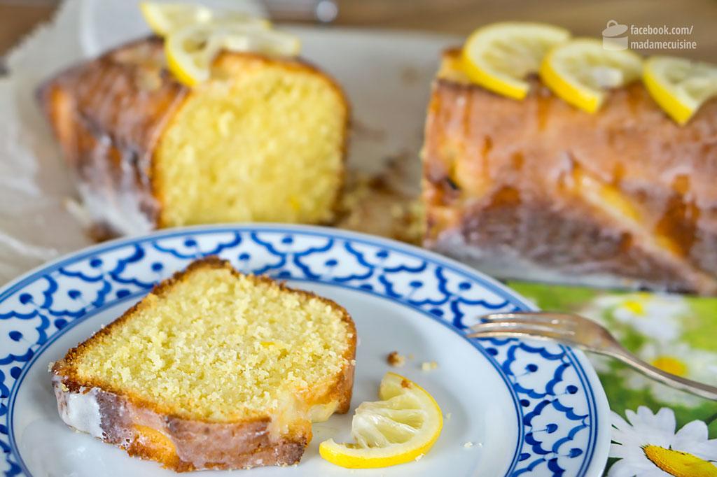 Saftiger Zitronenkuchen Madame Cuisine