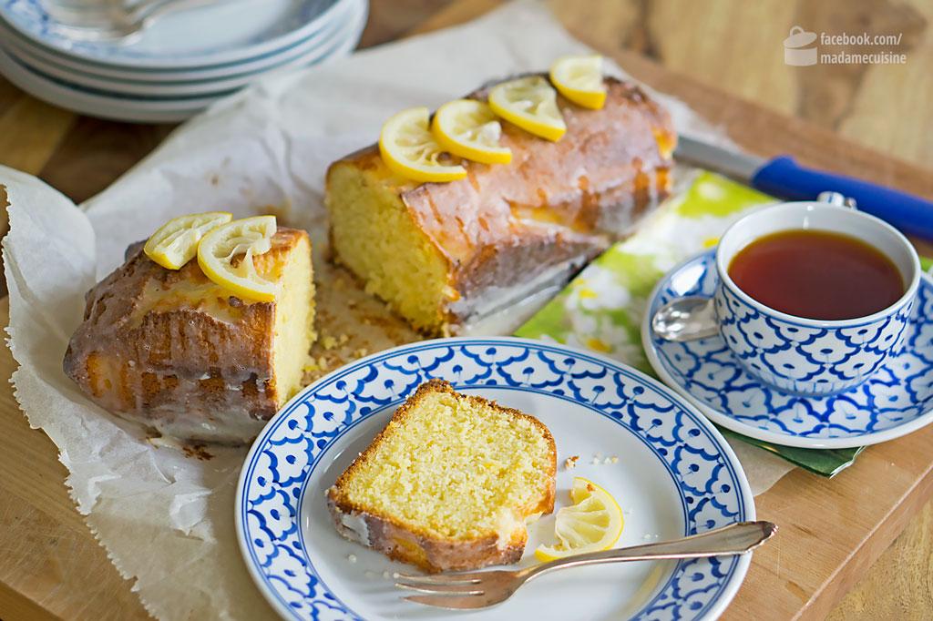 Saftiger Zitronenkuchen | Madame Cuisine Rezept