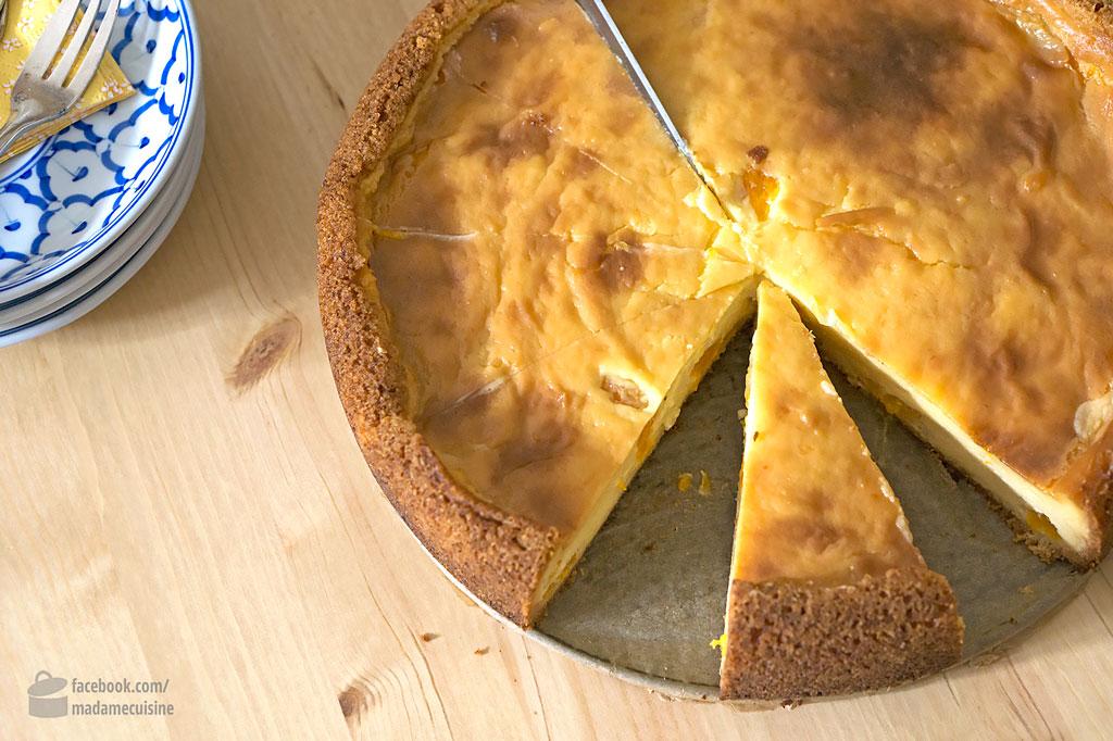 Mandarinen-Schmand-Kuchen | Madame Cuisine Rezept
