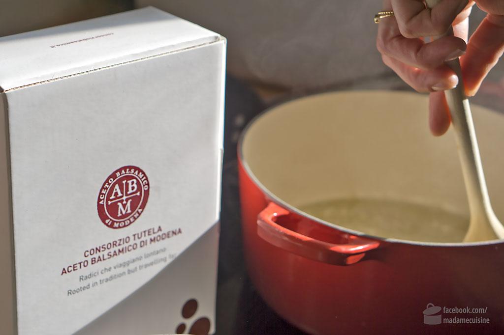 Ananasrisotto mit Balsamico-Reduktion | Madame Cuisine Rezept
