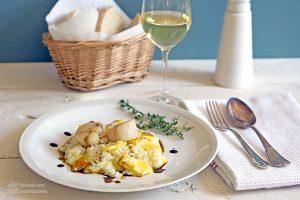 Ananasrisotto mit Balsamico-Reduktion | Madame Cuisine