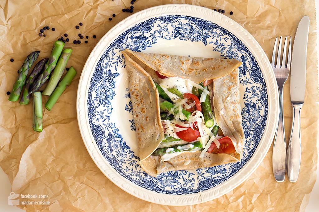 Bretonische Galette (mit Buchweizenmehl) | Madame Cuisine Rezept