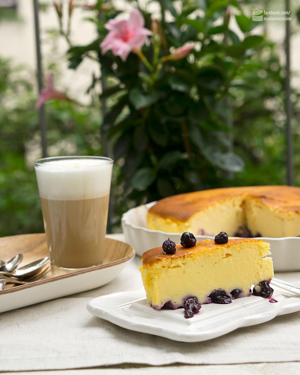 Blaubeer-Käsekuchen   Madame Cuisine Rezept