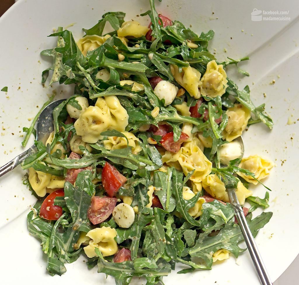 Tortellinisalat mit Rucola | Madame Cuisine Rezept