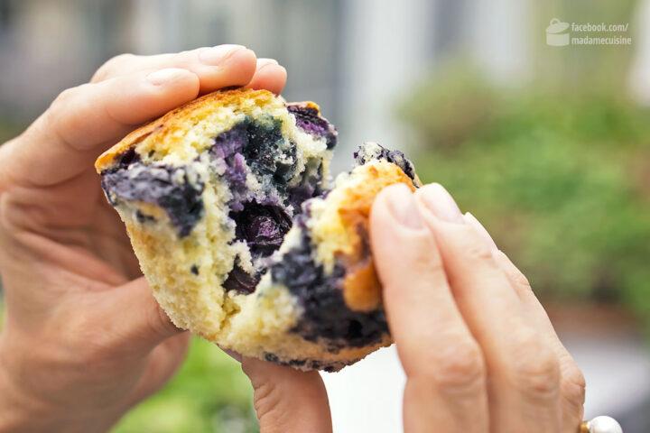 locker fluffige blaubeer muffins madame cuisine