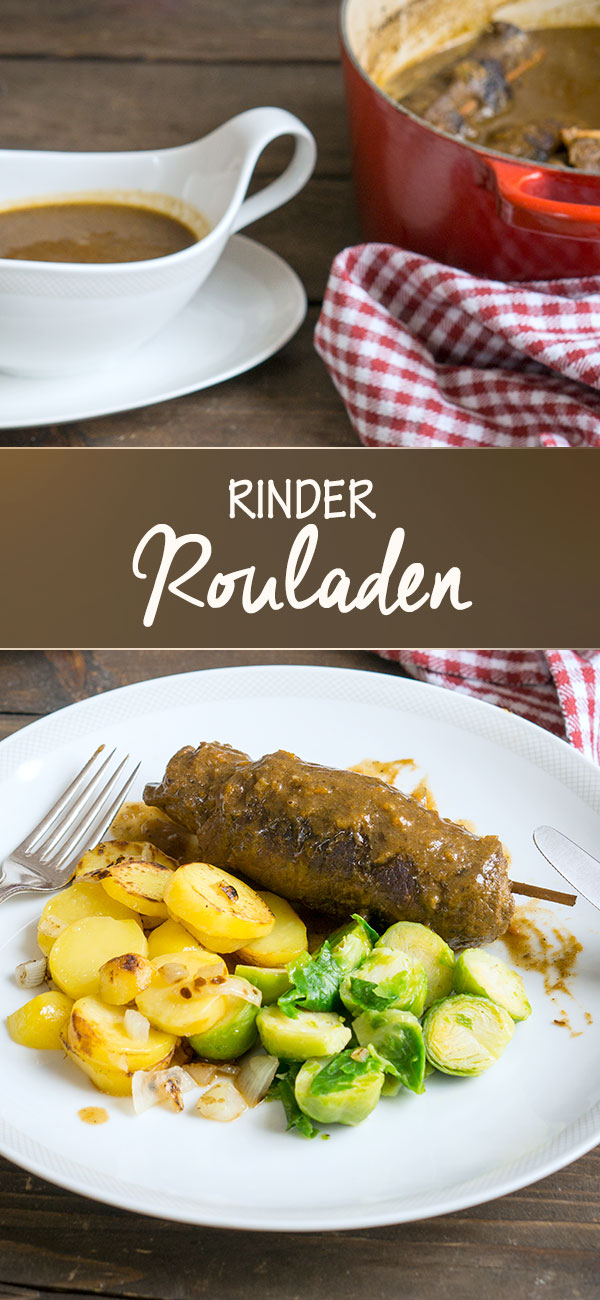 Rinder-Rouladen mit Kartoffeln & Rosenkohl | Madame Cuisine Rezept