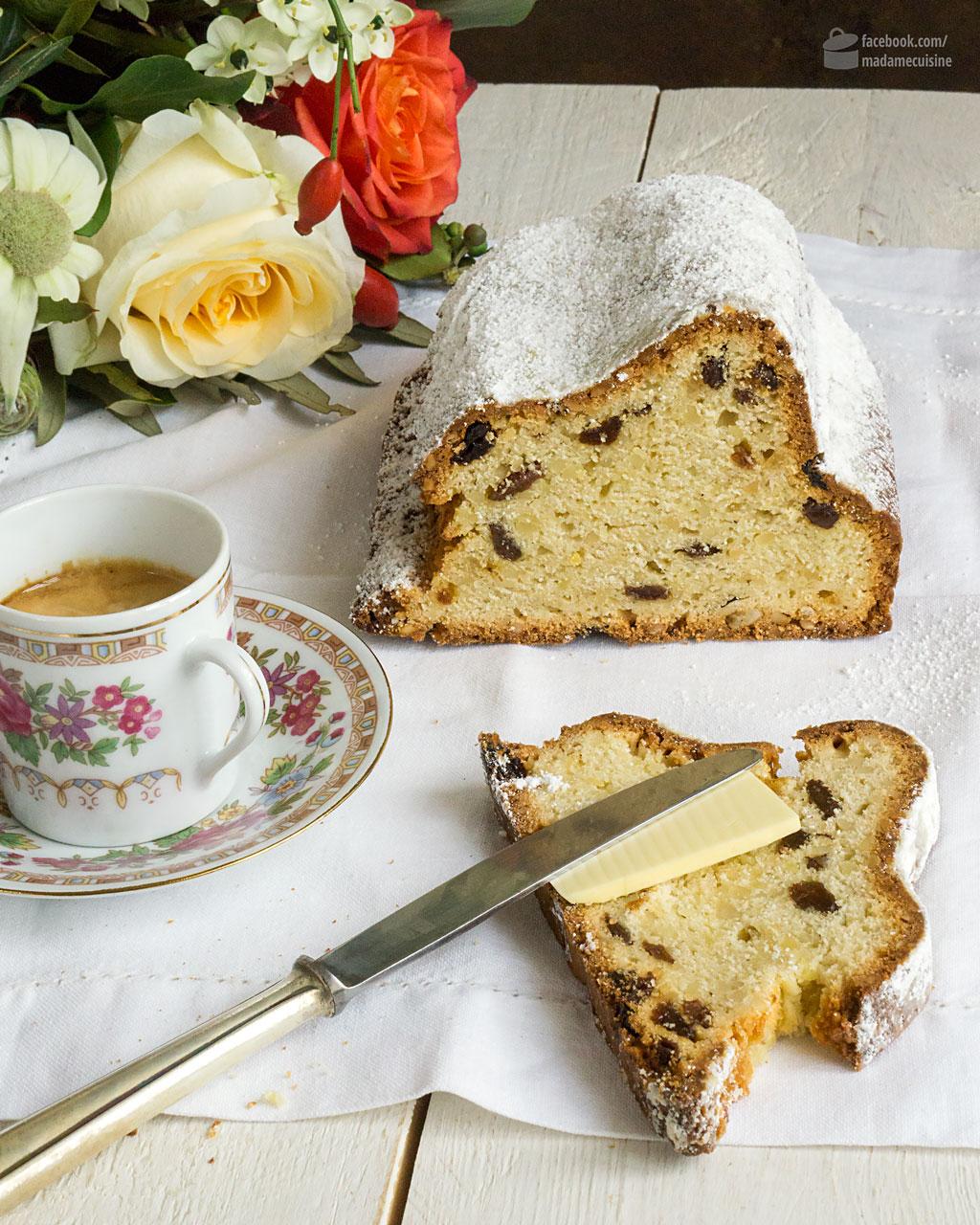 Ein einfaches Christstollen Rezept | Madame Cuisine Rezept