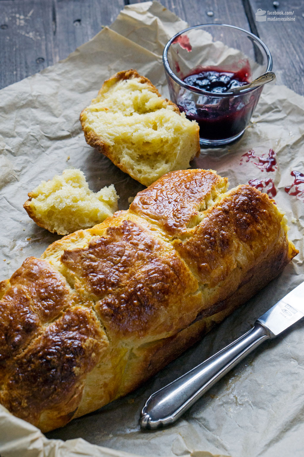 Brioche (Hefezopf auf Französisch) | Madame Cuisine Rezept