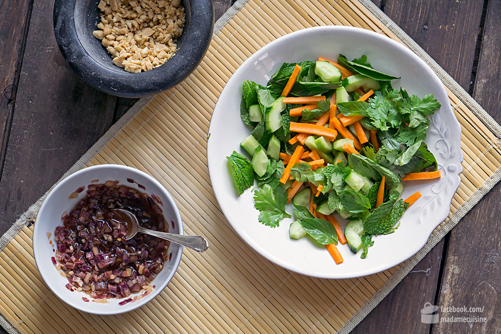 Glasnudelsalat mit süßem Chilidressing | Madame Cuisine Rezept