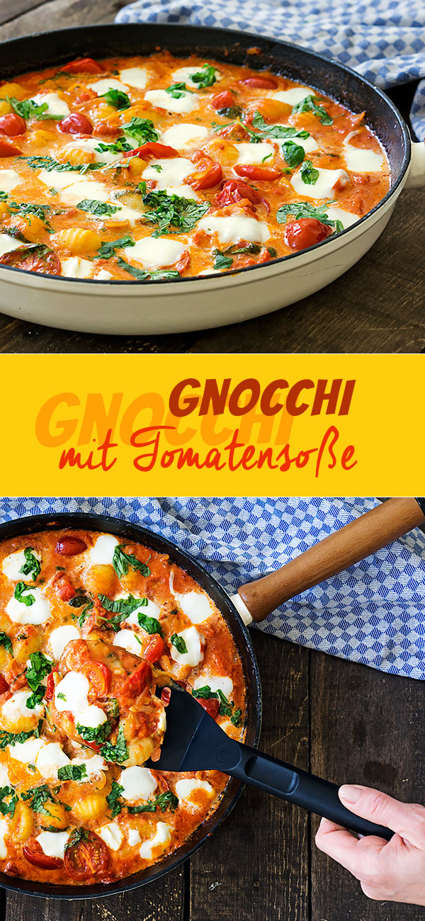 Gnocchi mit Tomatensoße