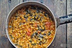 Indisches Linsen-Curry