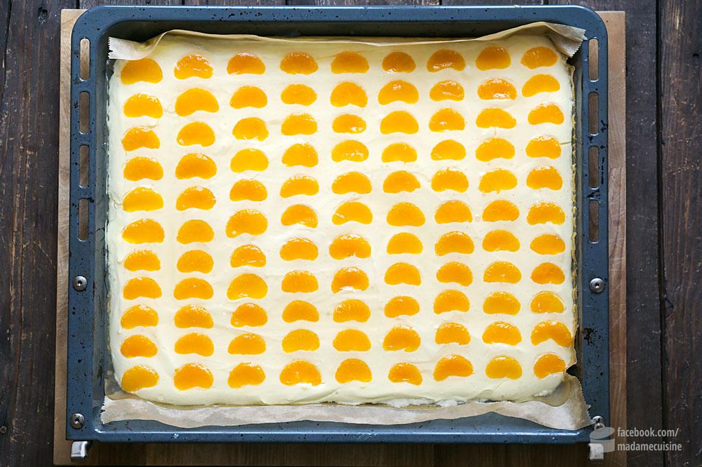 Mandarinen Schmand Kuchen Vom Blech Madame Cuisine