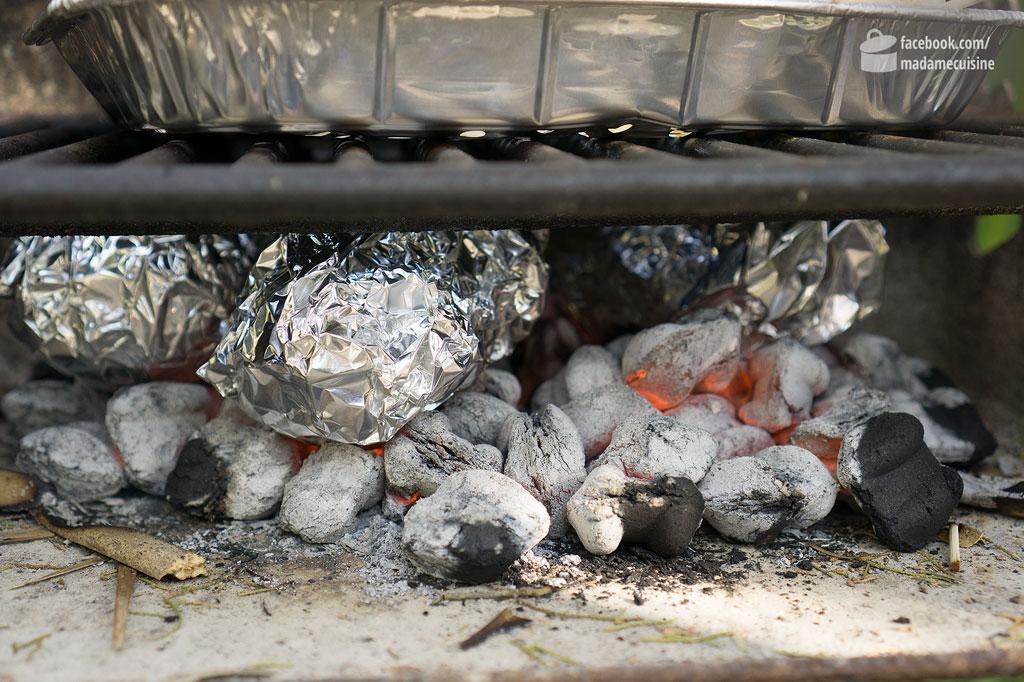 Ofenkartoffeln mit honig-glasiertem Lachs | Madame Cuisine Rezept