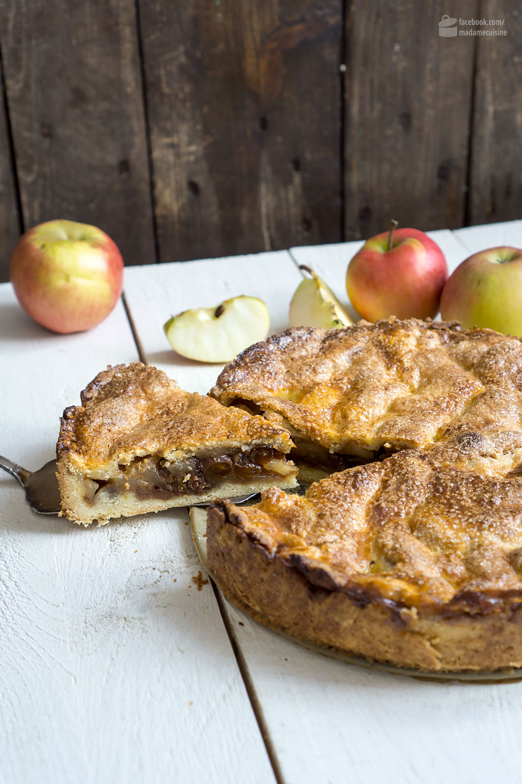 Apfelkuchen aus Amsterdam (Dutch Appeltaart) | Madame Cuisine Rezept
