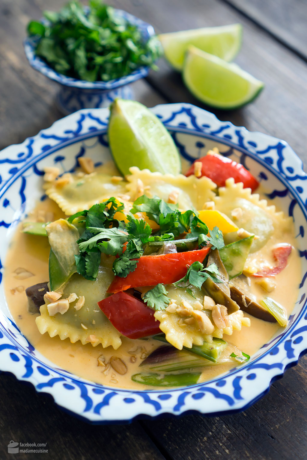 Thai-Curry mit Hilcona Spinat-Ravioli | Madame Cuisine Rezept