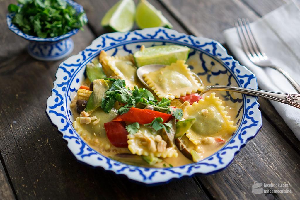 Thai-Curry mit Hilcona