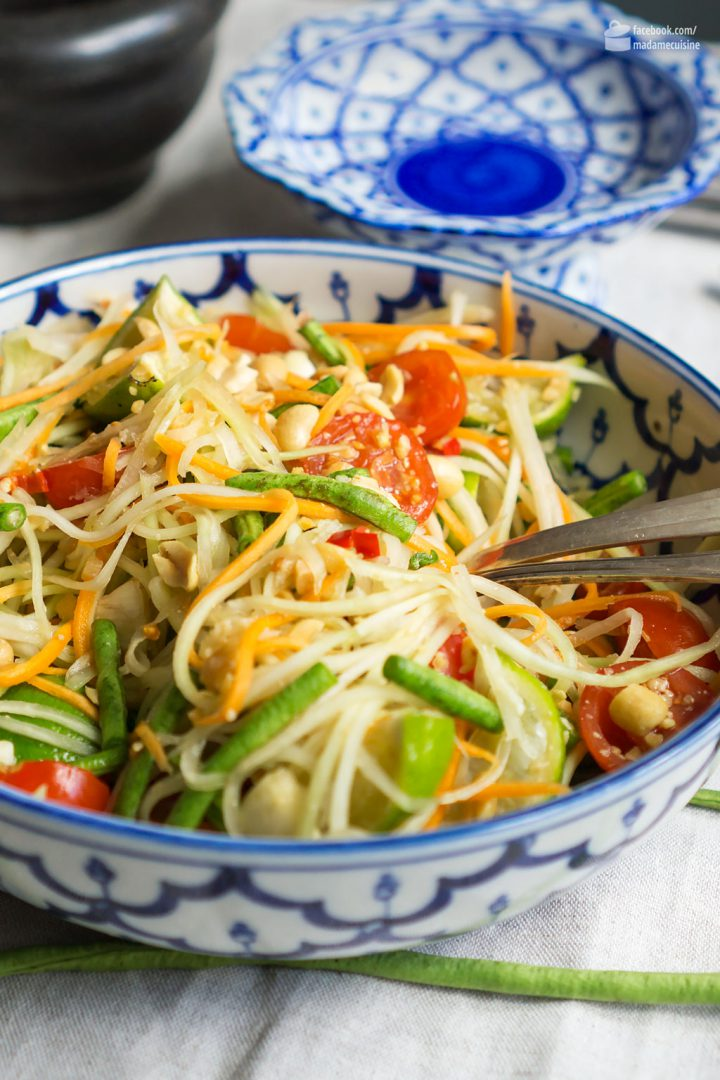 Thai Papaya-Salat | Madame Cuisine Rezept