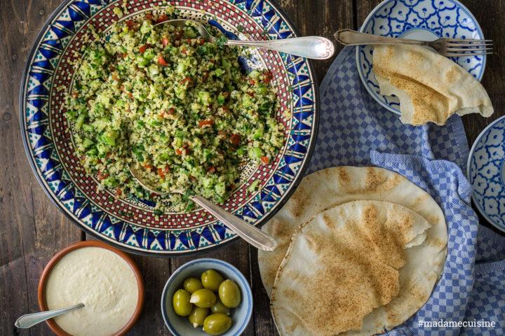 Taboulé: Bulgursalat mit Petersilie & Minze | Madame Cuisine Rezept