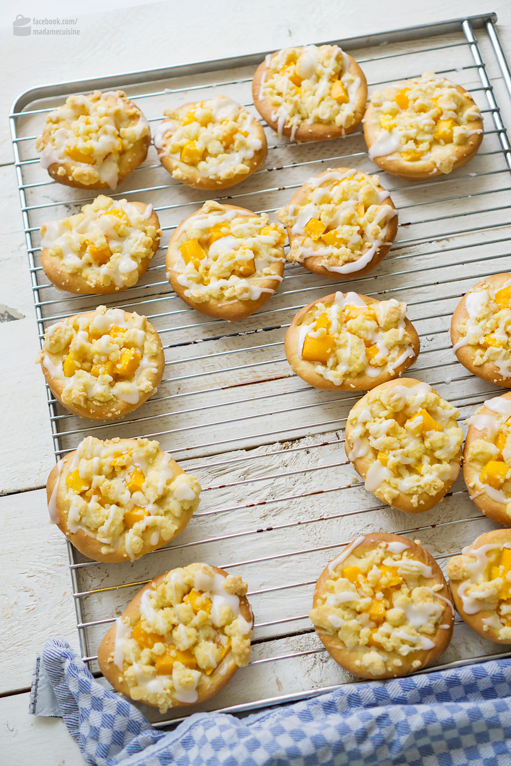 Streusel-Taler mit Mango & Limette | Madame Cuisine Rezept