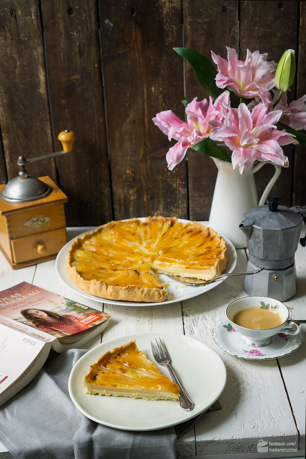 Birnen-Tarte nach Nicolas Barreau | Madame Cuisine Rezept