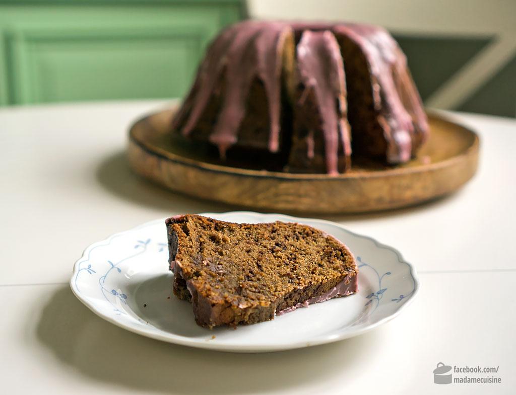 Saftiger Rotweinkuchen mit Schokolade | Madame Cuisine Rezept
