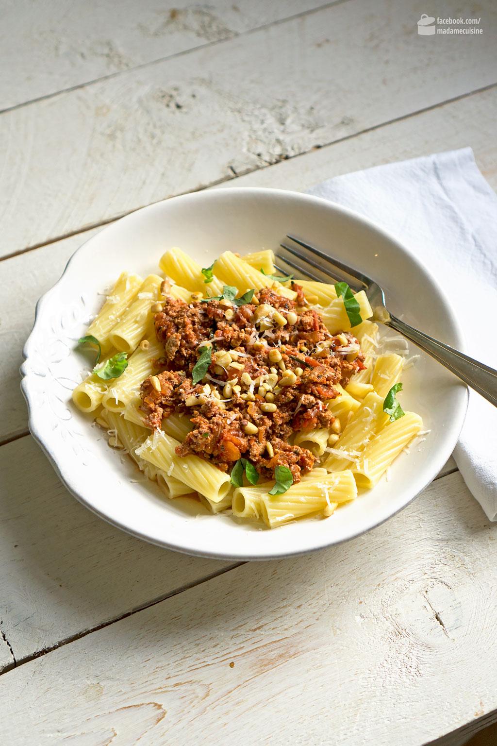 Tofu-Bolognese (vegetarisch & vegan) | Madame Cuisine Rezept