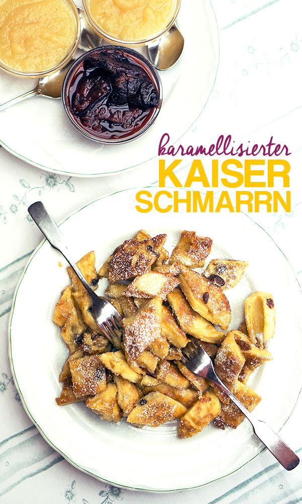 Karamellisierter Kaiserschmarrn von Georg Ertl | Madame Cuisine Rezept