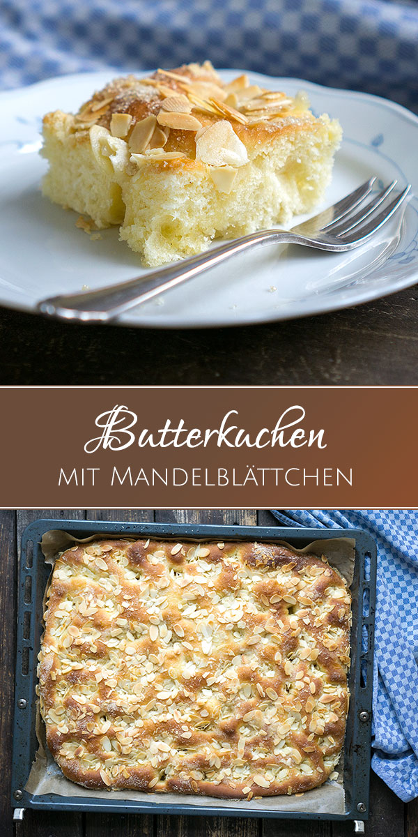 butterkuchen mit mandeln vom blech madame cuisine. Black Bedroom Furniture Sets. Home Design Ideas