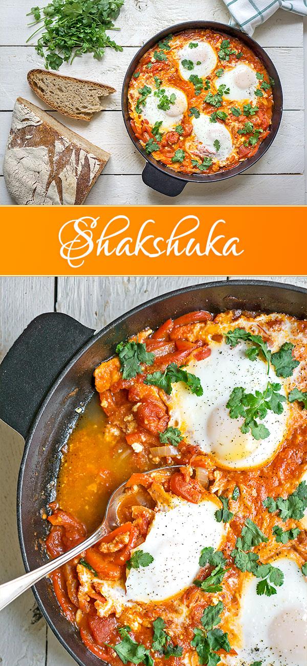 Shakshuka (Schakschuka) – Israelische Köstlichkeit | Madame Cuisine Rezept