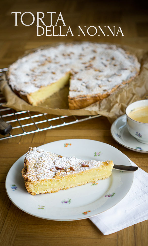 Torta Della Nonna Eine Italienische Spezialitat Madame Cuisine