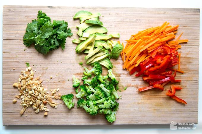 Vietnamesische Sommerrollen mit knackigem Gemüse | Madame Cuisine Rezept