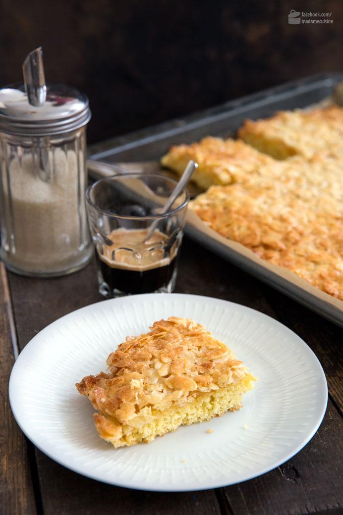 Butterkuchen vom Blech: Ein Klassiker | Madame Cuisine Rezept