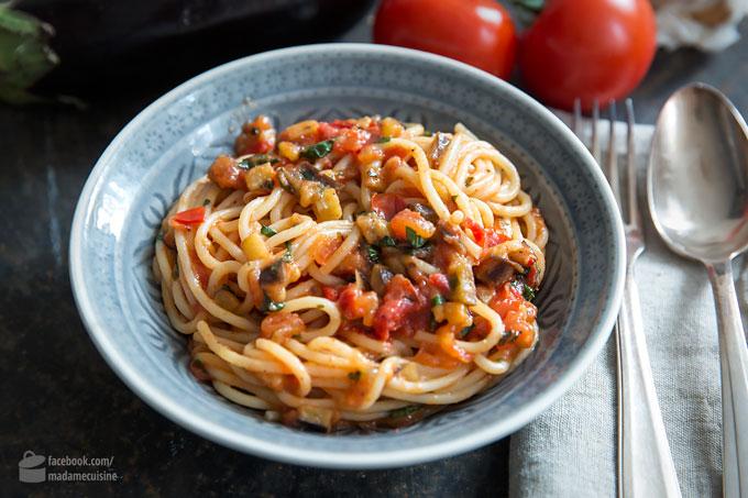 Spaghetti alla Norma – Pasta auf Sizilianisch | Madame Cuisine Rezept