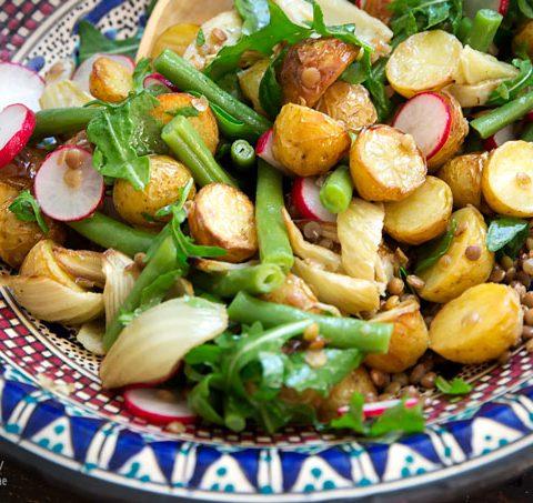 Backofen-Kartoffelsalat