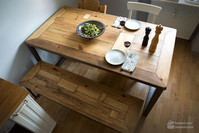 Ich präsentiere: Mein neuer Küchentisch | Madame Cuisine Rezept