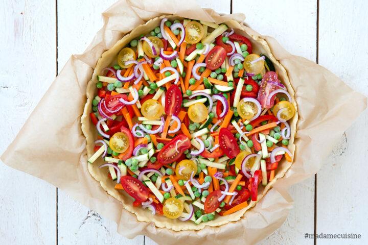 Gemüse-Quiche: Eine Ode an den Sommer | Madame Cuisine Rezept