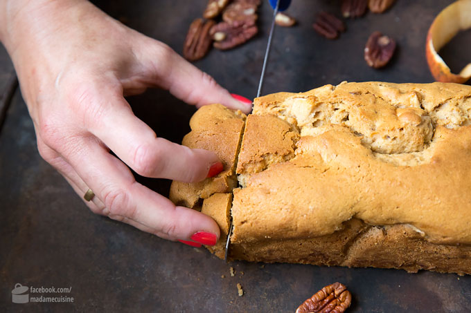 Für den Herbst: Süßes Apfel-Pekannuss-Brot | Madame Cuisine Rezept