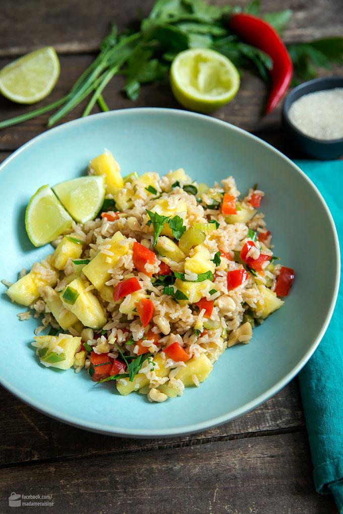Thailändischer Bratreis mit Ananas | Madame Cuisine Rezept