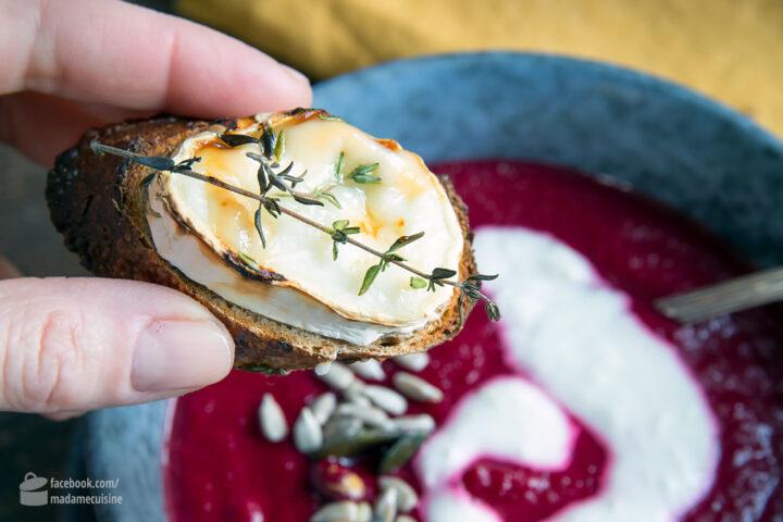 Rote-Bete-Suppe mit Kartoffeln | Madame Cuisine Rezept