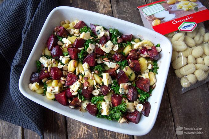 Gnocchi mit Grünkohl und Rote Bete | Madame Cuisine Rezept