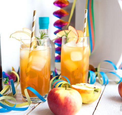 Gin-Fizz-Apfel
