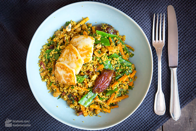 Marokkanischer Couscous mit Dattel-Balsam | Madame Cuisine Rezept