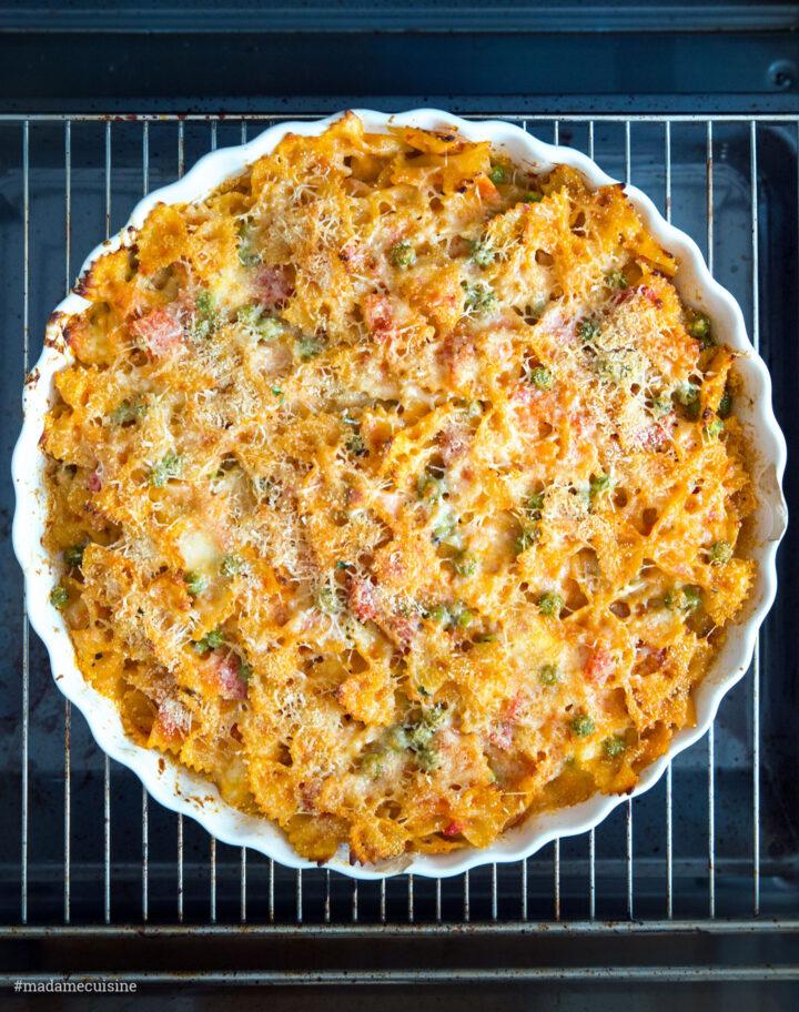 Vegetarischer Nudelauflauf: Pasta al Forno | Madame Cuisine Rezept