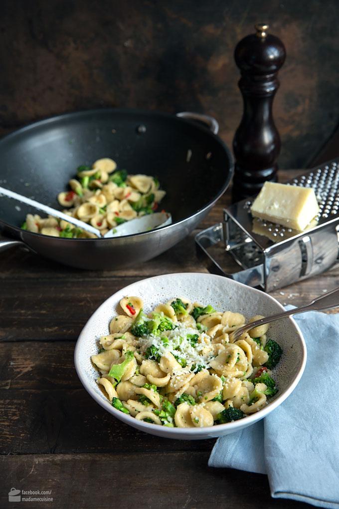 Orecchiette mit Brokkoli und Chili | Madame Cuisine Rezept