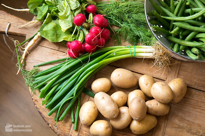 Frühlings-Kartoffelsalat mit Radieschen | Madame Cuisine Rezept