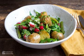 Frühlings-Kartoffelsalat mit Radieschen